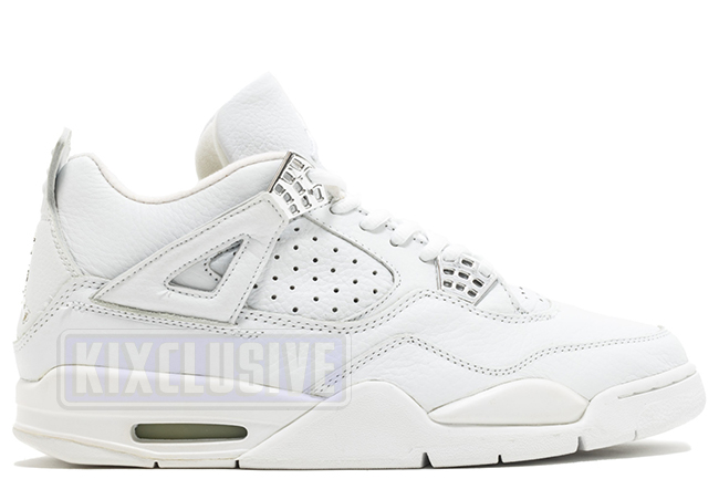 Kixclusive - Air Jordan 4 Retro + White Chrome Bling 2000 50d7d3587