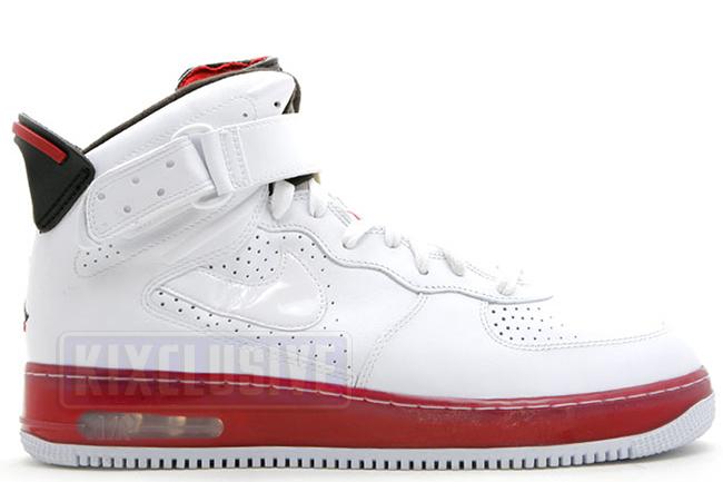 1f274670797538 Kixclusive - Air Jordan AJF6 White Black Red