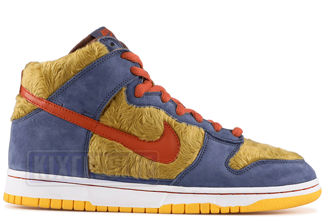 size 40 9fce2 7d1a5 Nike Dunk High Premium SB Three Bears Papa Bear