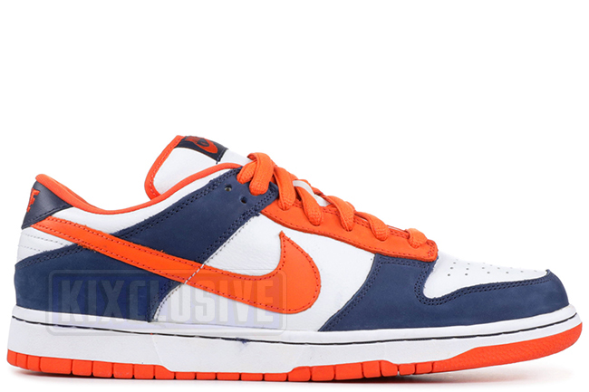 buy popular 0ff01 a083d Nike Dunk Low Pro SB Broncos