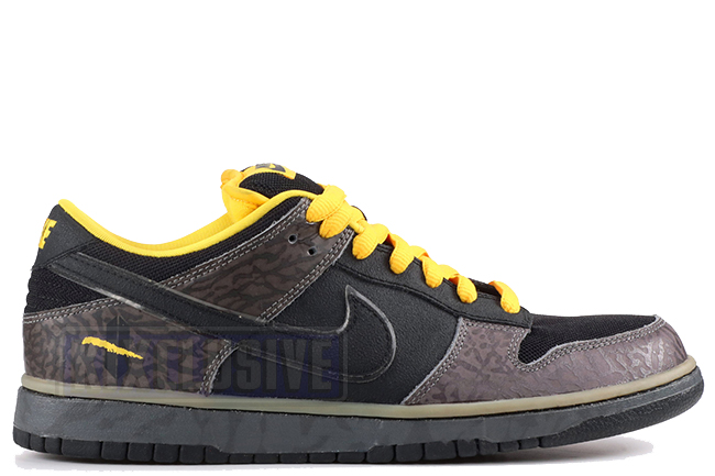 official photos 6e936 21bee Kixclusive - Nike Dunk Low Premium SB Yellow Curb
