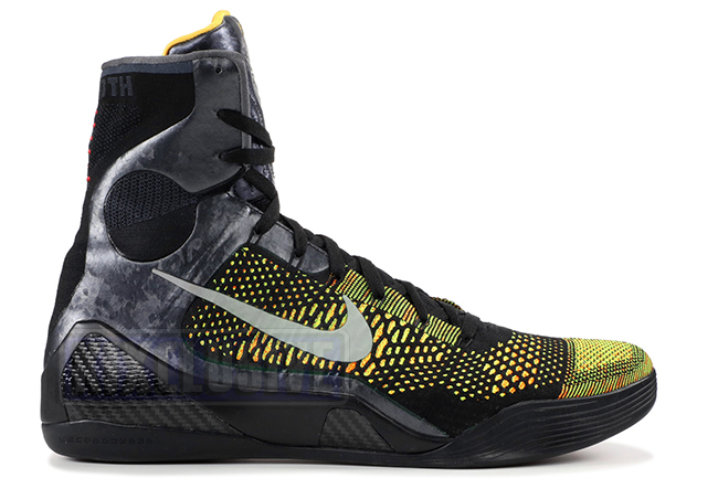 new arrival b0423 f1ad2 Kixclusive - Nike Kobe 9 Elite Inspiration Black Yellow