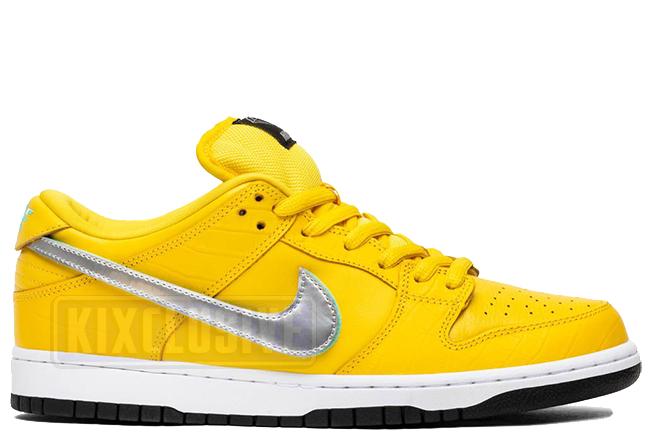 Kixclusive - Nike Dunk Low Pro SB Canary Diamond e5c6e1e0d