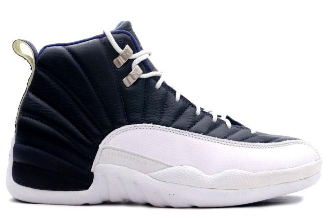 Air Jordan 12 OG Obsidian / White