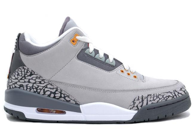 Kixclusive Air Jordan 3 Retro Ls Silver Sport Red