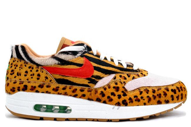 Nike Air Max 1 Supreme Atmos Safari Animal Pack