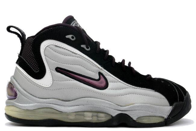 designer fashion 3fcbf 38eb9 Nike Air Total Max Uptempo Silver  Black