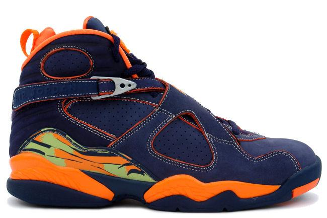 Air Jordan 8 Retro Navy / Orange