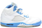 Air Jordan 5 Retro Motorsports White / University Blue