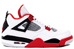 Air Jordan 4 Retro 2012 White / Red / Black