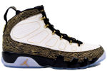Air Jordan 9 Retro DB Doernbecher White / Gold
