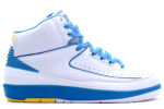 Air Jordan 2 Retro Carmelo White / Blue