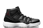Air Jordan 11 Retro BG 72-10 Black / Gym Red