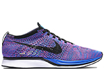 Nike Flyknit Racer Game Royal / Pink Flash