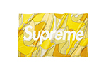 Supreme Abstract Beach Towel Yellow