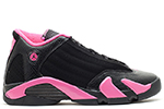 Air Jordan 14 Retro GS Black Pink
