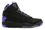 Nike Air Flight Lite High Black Purple