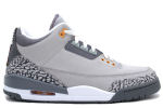 Air Jordan 3 Retro LS Silver / Sport Red