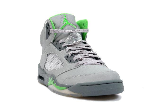 02b32a81fdf6 Air Jordan 5 Retro Silver   Green Bean. Style ID  136027-031