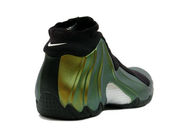 abd17dc56444 Nike Air Flightposite Black   Metallic Gold. Style ID  624015-071