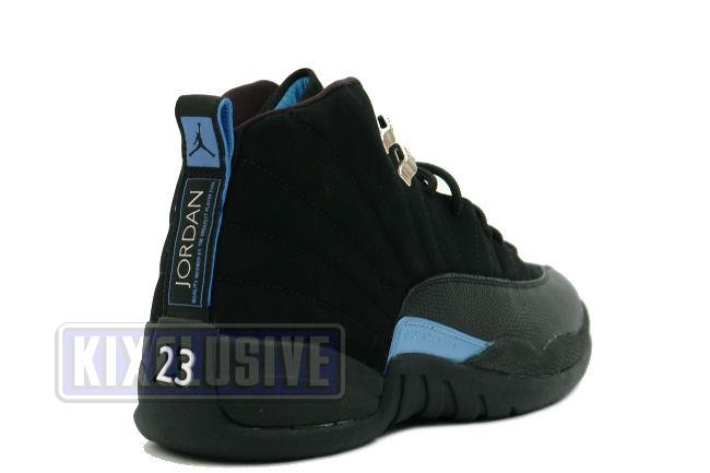 size 40 bccb3 39794 Air Jordan 12 Retro 2003 Black / University Blue
