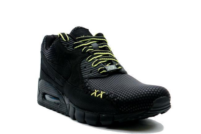 new product 8b432 80792 Nike Air Max 90 Current Kaws Black / Volt