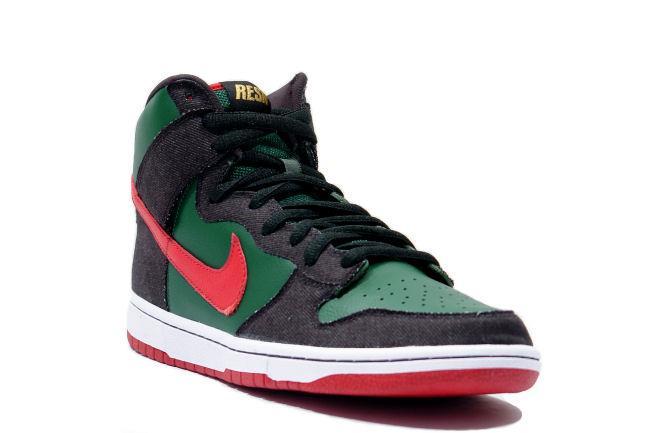 quality design f1648 016b9 Nike SB Dunk High 'Gucci'
