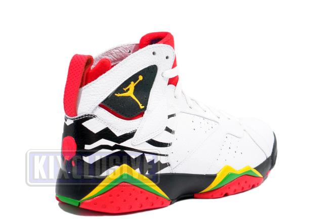 8683242d5c15d0 Kixclusive - Air Jordan 7 Retro Premio Bin23 White   Del Sol   Black