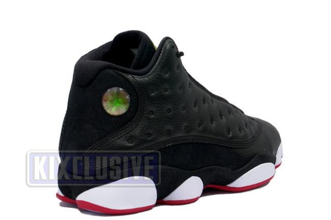 best service 5ad64 be110 Air Jordan 13 Retro Playoff Black / Red / White