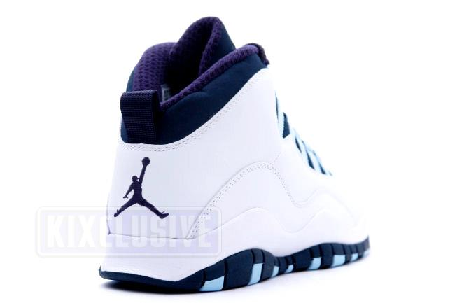 pretty nice d892a 77dcd Air Jordan 10 Retro White / Ice Blue