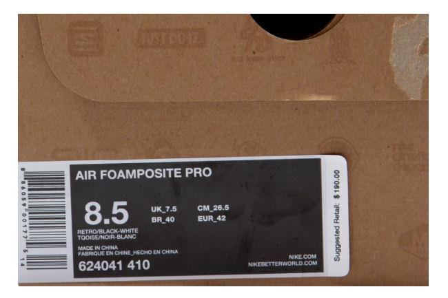 85eb6d9a1998b Kixclusive - Nike Air Foamposite Pro Electric Blue