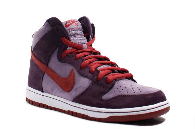 Info: The 'Plum' is reminiscent of the 'Plum' Dunk Low from the 'Ugly  Duckling' pack released in 2001. It is composed of two different shades of  purple ...