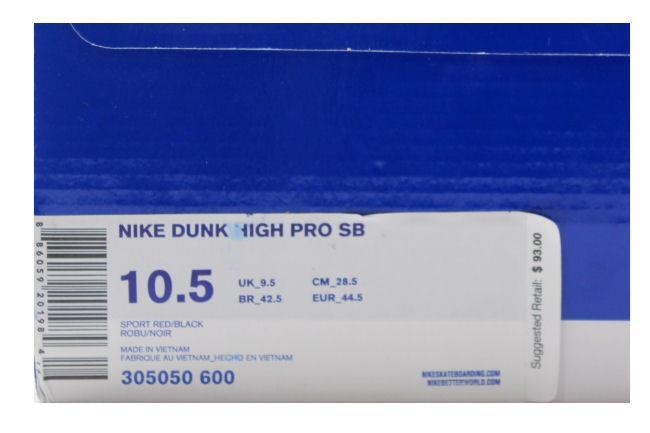quality design 304b3 319aa Nike SB Dunk High  Red Devil