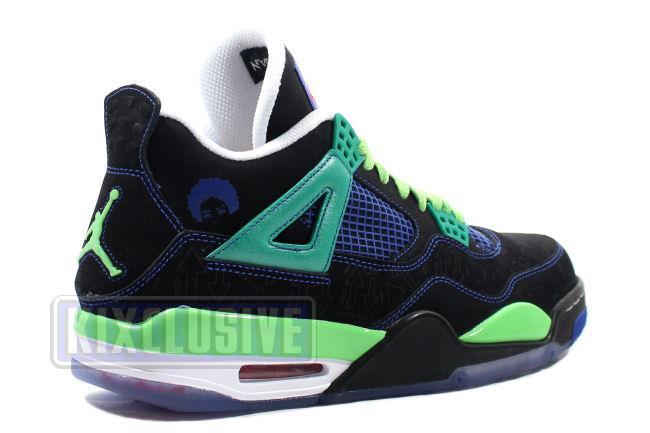 promo code 49755 1da1f Air Jordan 4 Retro DB Doernbecher Blue / Black
