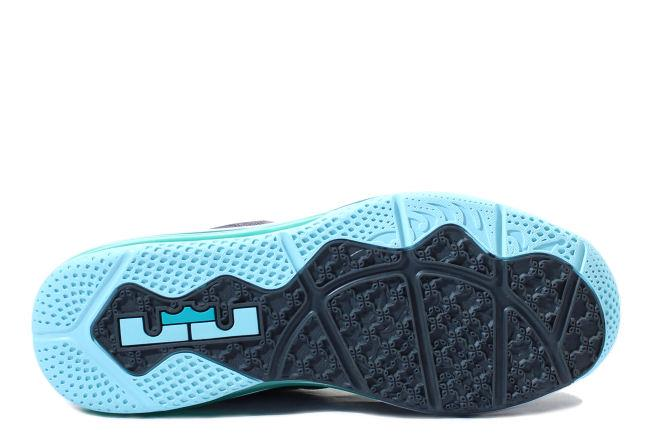 c8b3092aad18 Kixclusive - Nike Lebron 9 Low Easter Dark Grey   Mint Candy