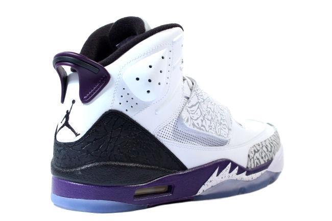 5772700ddfd3 Kixclusive - Air Jordan Son Of Mars White   Club Purple