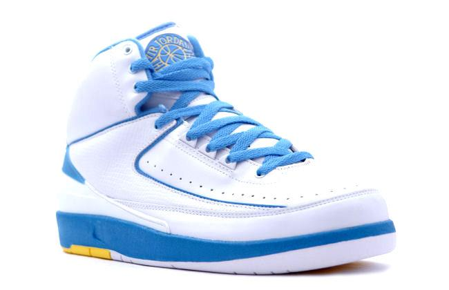 first rate c5c75 796b7 Air Jordan 2 Retro Carmelo White / Blue