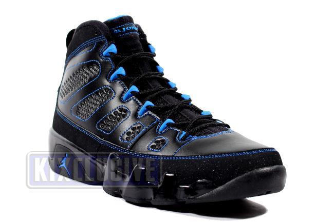4c0aa64140a Kixclusive - Air Jordan 9 Retro Black Bottom Photo Blue