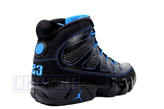 check out 17ed4 304df Air Jordan 9 Retro Black Bottom Photo Blue