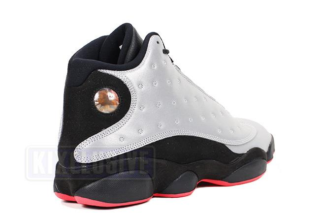 edf3638f8ab65c Kixclusive - Air Jordan 13 Retro Reflective Silver   Infrared 23