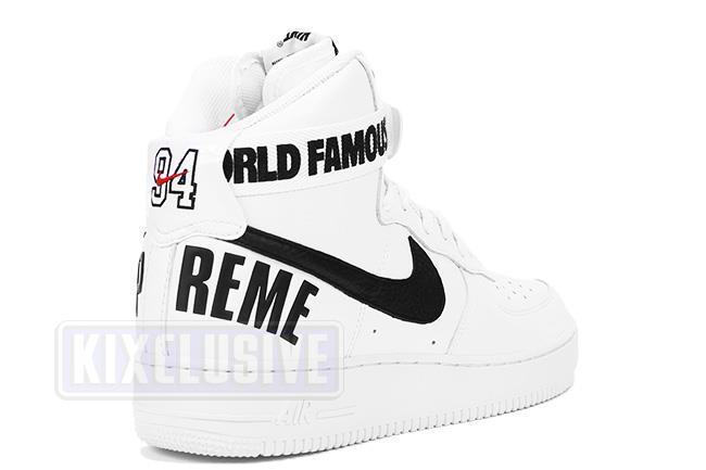 sale retailer c7466 22a15 Air Force 1 High Supreme SP White
