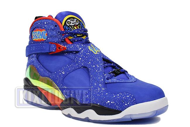 official photos 6ad11 311b4 Air Jordan 8 Retro DB Doernbecher Blue / Black