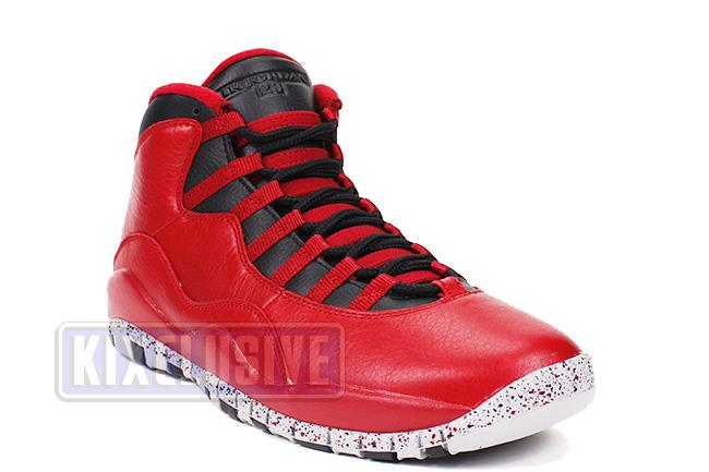 e671650e8f41 Kixclusive - Air Jordan 10 Retro 30th Bulls Over Broadway Gym Red ...