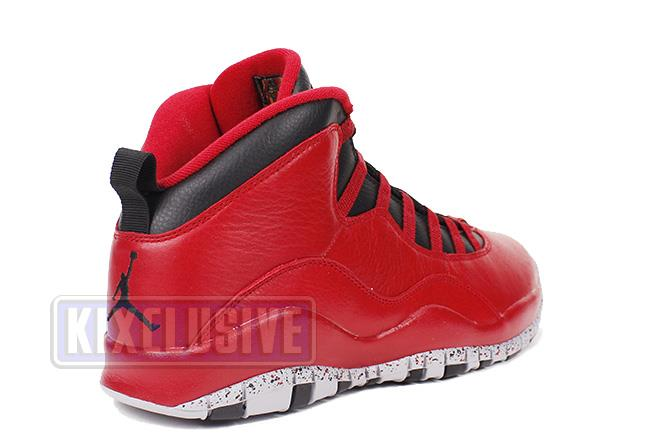 89d5fdf94f37ff Kixclusive - Air Jordan 10 Retro 30th Bulls Over Broadway Gym Red ...