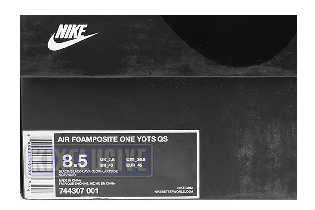 NikeMenAir Foamposite One WuTang Walmart Canada