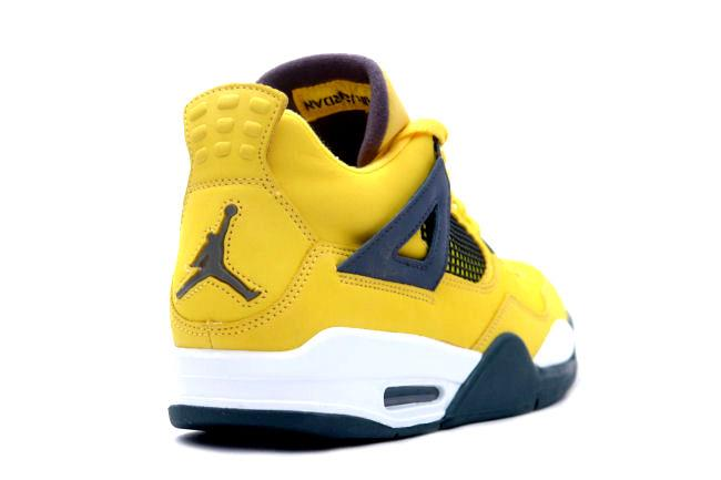 kixclusive air jordan 4 retro lightning