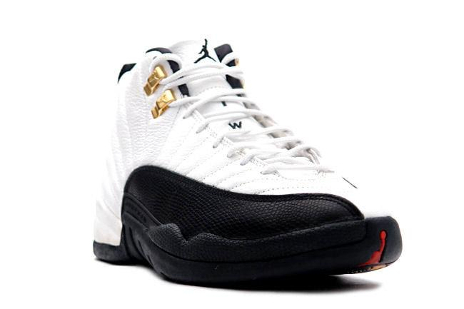 Kixclusive Air Jordan 12 Og White Black Taxi
