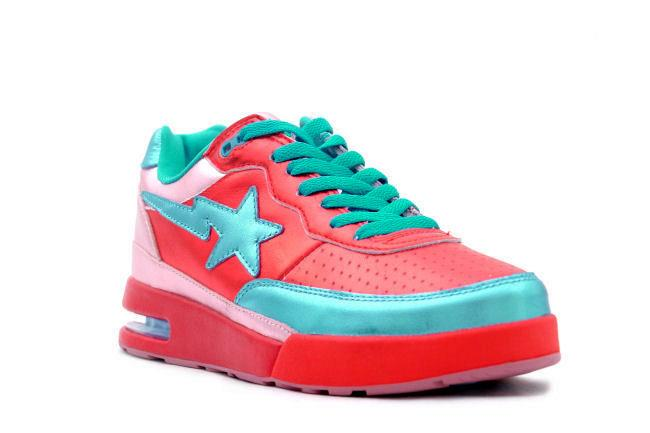 separation shoes 18be4 f670e Bape Roadsta Pharrell Red   Blue