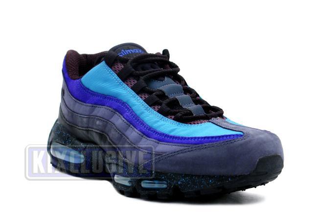 air max 95 blue black