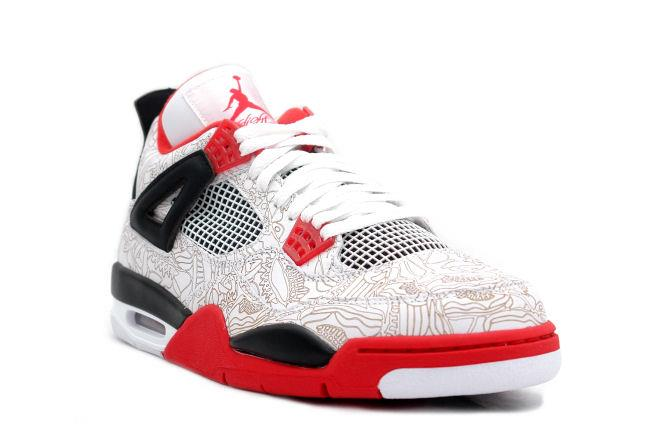 2e4cee06696 hot air jordan 4 retro laser white red 7f5f1 1dfd0